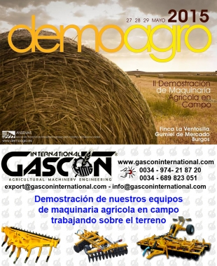 Demoagro 2015 - Agricultural machinery demostrations din the field