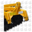 ADJUSTABLE AND STRENGHTENED FRAME TRAILED DISC HARROWS
