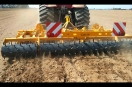 Straight line subsoilers in 3 rows 11 skanks hydraulic folding stabble soil cultivation cereal NYX H Herederos de Manuel Gascon International agricultural machinery