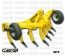V-SHAPE SUBSOILERS 7 SHANKS WITH WHEELS GASCON INTERNATIONAL AGRICULTURAL MACHINERY