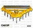 V-SHAPE SUBSOILERS 9 SHANKS MULTI POSITION-GASCON INTERNATIONAL AGRICULTURAL MACHINERY