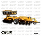 HYDRAULIC V-SHAPE DISC HARROWS