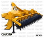 STRAIGHT LINE SUBSOILERS 7 SHANKS GASCON INTERNATIONAL AGRICULTURAL MACHINERY HEREDEROS DE MANUEL GASCON
