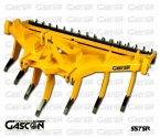V-SHAPE SUBSOILERS 7 SHANKS GASCON INTERNATIONAL AGRICULTURAL MACHINERY