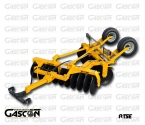 V-SHAPE CARRIED DISC HARROWS WITH REAR WHEELS GASCON INTERNATIONAL AGRICULTURAL MACHINERY HEREDEROS DE MANUEL GASCON