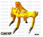 V-SHAPE SUBSOILERS 3 SHANKS GASCON INTERNATIONAL AGRICULTURAL MACHINERY