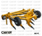 CURVED V SHAPE SUBSOILING PLOUGHS GASCON INTERNATIONAL AGRICULTURAL MACHINERY HEREDEROS DE MANUEL GASCON