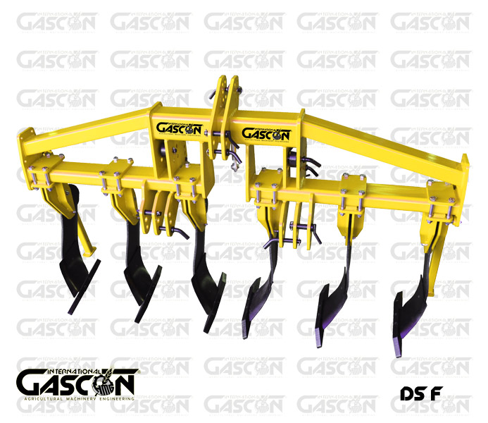 SINGLE FRAME SUBSOILING PLOUGHS GASCON INTERNATIONAL AGRICULTURAL MACHINERY HEREDEROS DE MANUEL GASCON