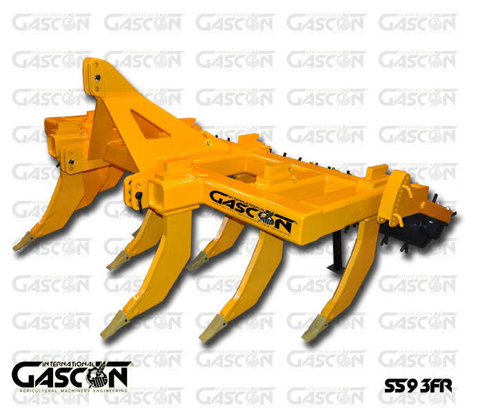 STRAIGHT LINE SUBSOILERS 9 SHANKS GASCON INTERNATIONAL AGRICULTURAL MACHINERY HEREDEROS DE MANUEL GASCON