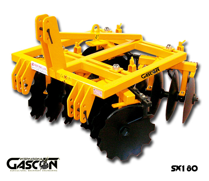 TRAILED X-SHAPE DISC HARROWS